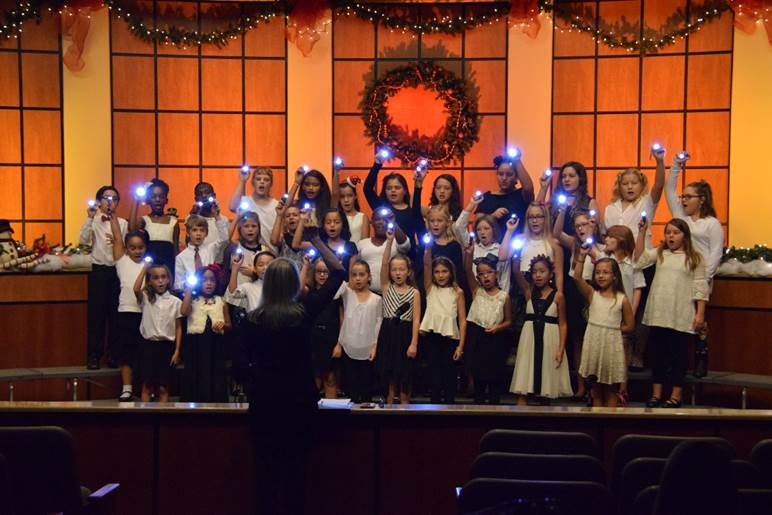 Local students in annual Sounds of the Season on TV