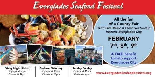 Everglades Seafood Festival Feb. 7 – 9