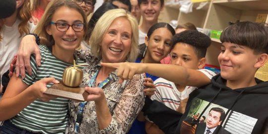 Golden Apple teacher awards in Lee County