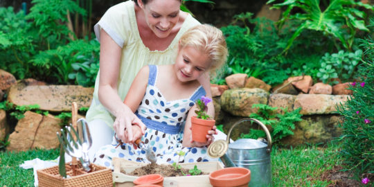 While staying home, teach your kids to garden