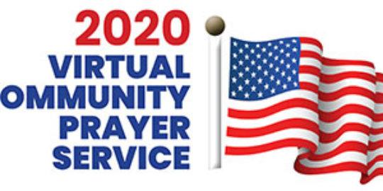 Virtual community prayer event May 7