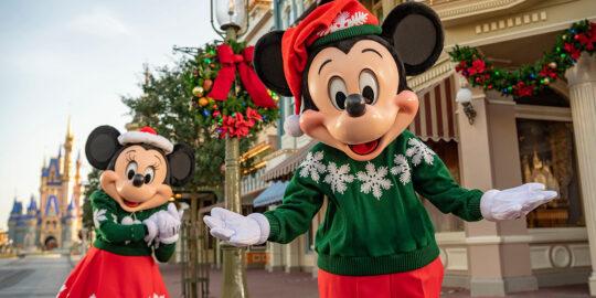 Christmas at Florida's theme parks