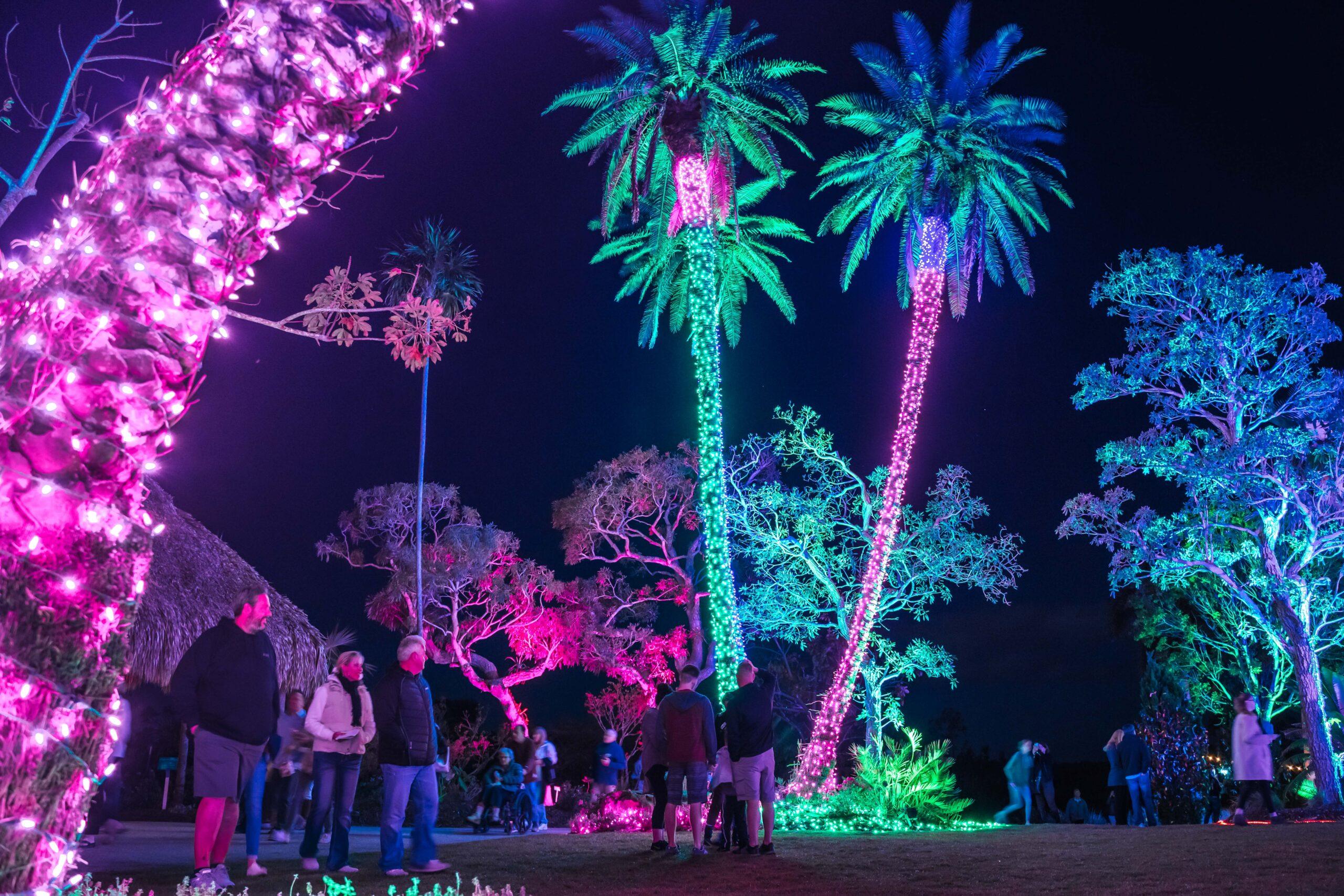 Night Lights in the Garden open in Naples