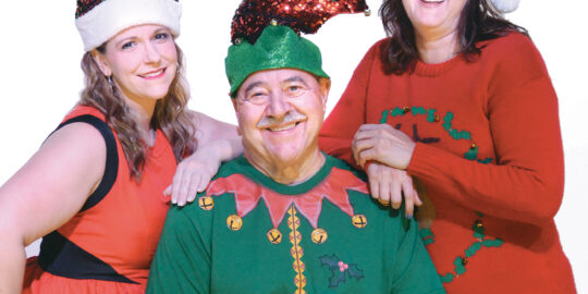 Spectacular Christmas Revue on stage at CulturalPark Theater