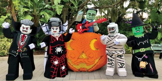 Halloween at Florida theme parks